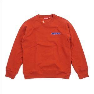 Supreme connect crew neck sweatshirt